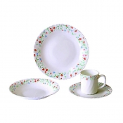 8pc Opal Dinnerware Set
