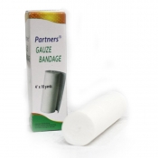 "Buy Partners Gauze Bandage 4""x10 yards online at Shopcentral Philippines."