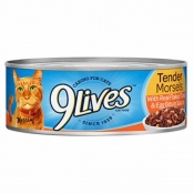 Buy 9 Lives Cat Food Tender Morsels with Real Flaked Tuna In Sauce 5.5OZ online at Shopcentral Philippines.