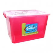 Buy Storage Box Red 80L online at Shopcentral Philippines.