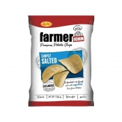 Buy Leslie's Farmer John Potato Chips simply Salted 90g online at Shopcentral Philippines.