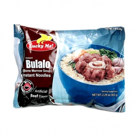 Lucky Me Instant Noodles Bulalo 65g for PHP16.00 available ...