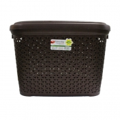 Buy HOBBY LIFE 30 LITERS RATTAN STORAGE BASKET (BROWN) online at Shopcentral Philippines.