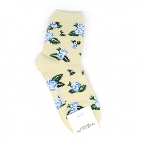 Buy Flower Themed Hi-Cut Socks online at Shopcentral Philippines.