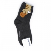 Buy Sneaked Fried Chicken Hi-Cut Socks online at Shopcentral Philippines.