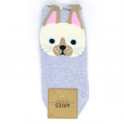 Buy  Cat face Design Low-Cut Socks 1 online at Shopcentral Philippines.