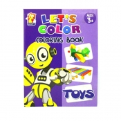 Buy Let's Color Coloring Book online at Shopcentral Philippines.