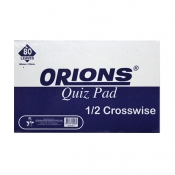 Buy Orions Writing Pad Quiz Pad Crosswise online at Shopcentral Philippines.