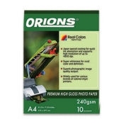 Buy Orions Photo Paper A4 Premium High Gloss 240gsm online at Shopcentral Philippines.