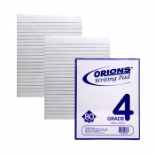 Buy Orions Writing Pad Grade 4 3/Pac online at Shopcentral Philippines.