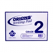 Buy Orions Writing Pad Grade 2 Solo online at Shopcentral Philippines.