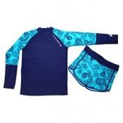 Buy Rash Guard for Girls Set Blue online at Shopcentral Philippines.