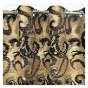 Buy Buy 1 Take 1 - Curtain Heavy Jacquard Gromets Printed (Design 1) online at Shopcentral Philippines.