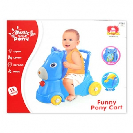 Buy Ride-on Pony w/ Lights & Sounds online at Shopcentral Philippines.