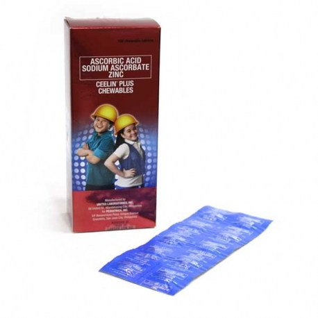 Buy Ceelin Chewable tablet  30's online at Shopcentral Philippines.