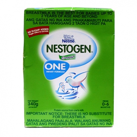 Buy Nestle Nestogen One 340g Powder online at Shopcentral Philippines.
