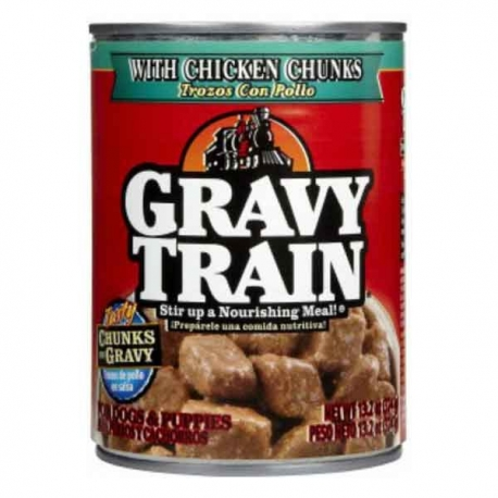 Buy Gravy Train Chunks In Gravy With Chicken 13.2OZ online at Shopcentral Philippines.