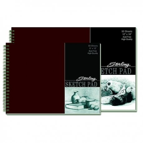 Buy Sterling Professional Sketchpad Wire-O 12 x 18 50 Leaves online at Shopcentral Philippines.
