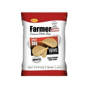 Buy Leslie's Farmer John Potato Chips Spicy BBQ 90g online at Shopcentral Philippines.