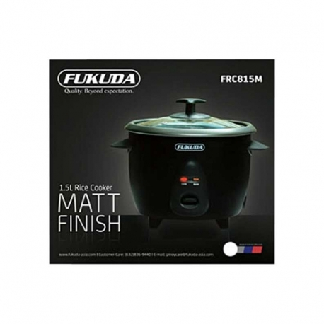 Buy Fukuda FRC815M Rice Cooker 1.5L 2in1 Glass Cover Matte (Drum Series) online at Shopcentral Philippines.
