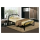 """Mimosa Black Bed Frame 54""""x75"""""""