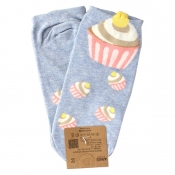 Buy Cup Cake  Design Low - Cut Socks online at Shopcentral Philippines.