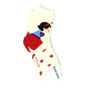 Buy Snow White Couple Design Hi-Cut Socks online at Shopcentral Philippines.