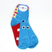 Buy Hippo Themed Hi-Socks  online at Shopcentral Philippines.
