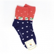 Buy Christmas Themed  - Polkadot Design Top Socks  1 online at Shopcentral Philippines.