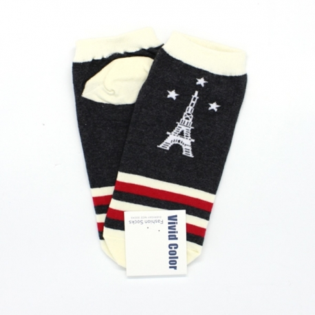 Buy Eiffel Tower Low-Cut  Socks  1 online at Shopcentral Philippines.