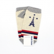 Buy Eiffel Tower Low-Cut  Socks  2 online at Shopcentral Philippines.