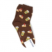 Buy Sandwich Themed  Hi-cut Socks online at Shopcentral Philippines.