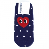 Buy Heart Face Low-Cut Socks 2 online at Shopcentral Philippines.