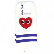 Buy Heart Face Low-Cut Socks 3 online at Shopcentral Philippines.