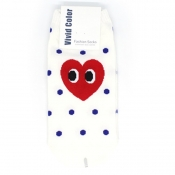 Buy Heart Face Low-Cut Socks 4 online at Shopcentral Philippines.