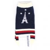 Buy Eiffel Tower Low-Cut  Socks  4 online at Shopcentral Philippines.