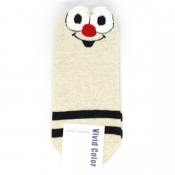 Buy  Big Eyes Design Low-Cut Socks 2 online at Shopcentral Philippines.