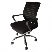 Buy Office Mid Back Chair M6156 online at Shopcentral Philippines.