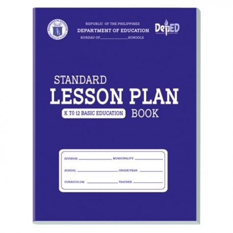 Orions Standard Lesson Plan Book Subject Notebook