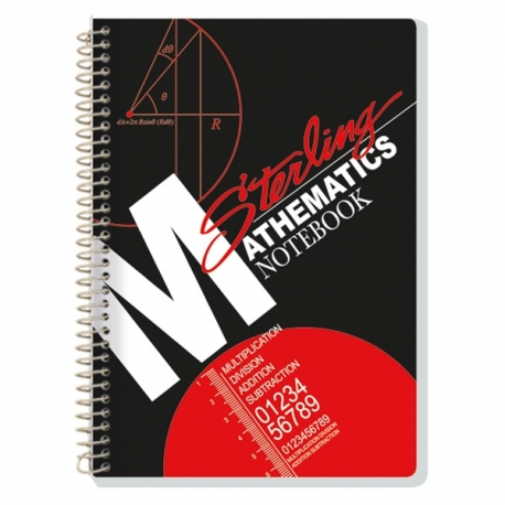 Buy Sterling Notebook Sterling Mathematics Notebook Subject Notebook online at Shopcentral Philippines.