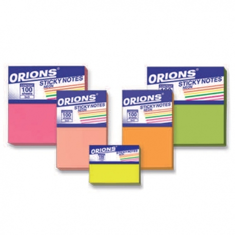 Buy Orions Sticky Notes Neon online at Shopcentral Philippines.
