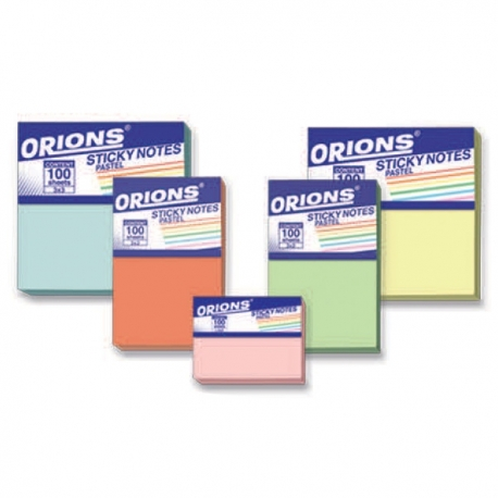 Buy Orions Sticky Notes Pastel online at Shopcentral Philippines.