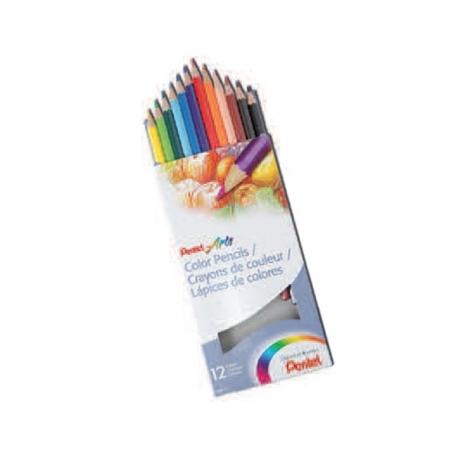 Pentel Arts Color Pencils 12 colors
