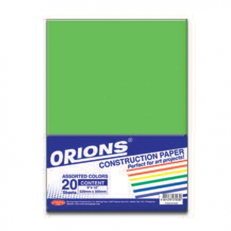 Buy ORIONS Construction Paper online at Shopcentral Philippines.