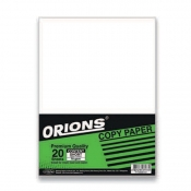 Buy ORIONS Bond Paper 70 gsm 20s online at Shopcentral Philippines.