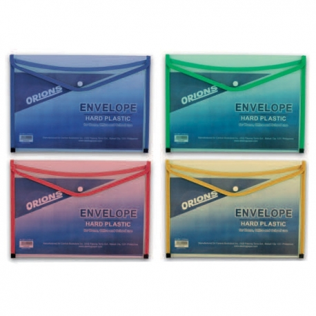 Buy Orions Hard Plastic Envelope A4 online at Shopcentral Philippines.