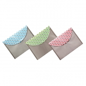 "Buy Poche Basics Polka Dots Button Envelope 8.5 x 11"" online at Shopcentral Philippines."