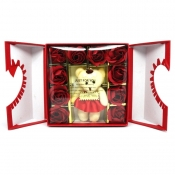 Buy Valentine Bear & Rose Soaps Red online at Shopcentral Philippines.