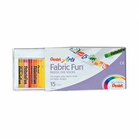 Buy PENTEL ARTS FABRIC FUN 15 COLORS online at Shopcentral Philippines.