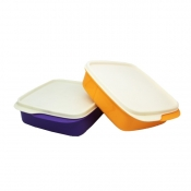Buy Buy 1, Take 1 Tupperware Square Divided Lunch Box  online at Shopcentral Philippines.